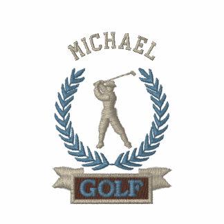 Costume personalizado do logotipo da bandeira do camiseta bordada polo