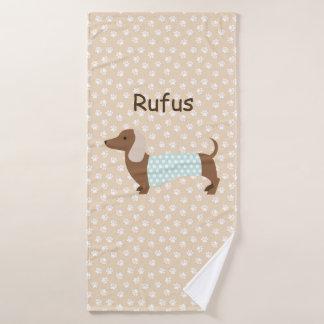 Costume Rufus de toalha do Dachshund