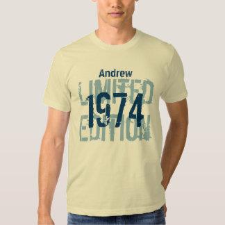 Costume V12 da edição limitada do aniversário de T-shirt
