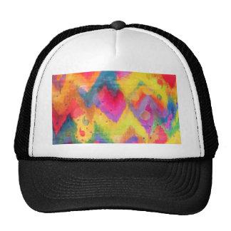 Cotação corajosa nos néons 2, arco-íris Chevron Boné