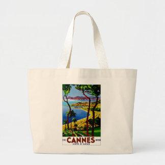 ~ Cote d'Azur de Cannes Sacola Tote Jumbo