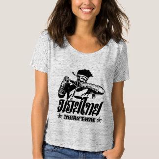 cotovelo tailandês muay t-shirts