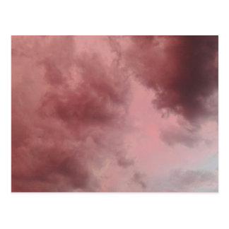 Cotton Candy Clouds Cartão Postal