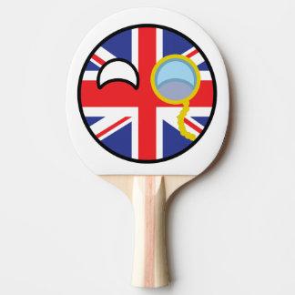 Countryball BRITÂNICO Raquete Para Tênis De Mesa