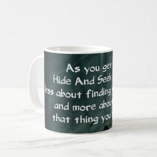 Couro cru adulto - e - busca caneca de café