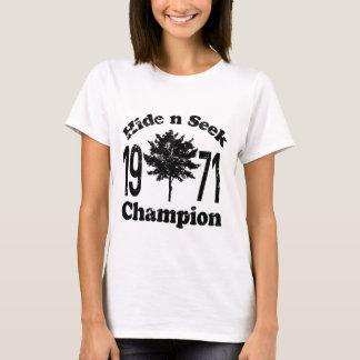 Couro cru do vintage - e - procure a camisa 1971