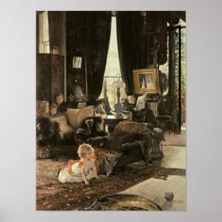 Couro cru - e - busca, c.1880-82 poster
