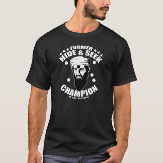 couro cru - e - campeão da busca camiseta
