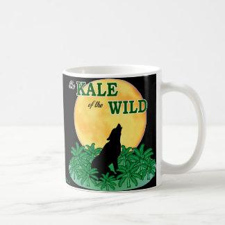 Couve do selvagem caneca de café