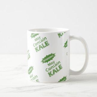 Couve engraçada caneca de café