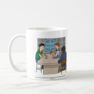 Couve porque bem-estar caneca de café