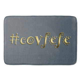 #covfefe! tapete de banheiro