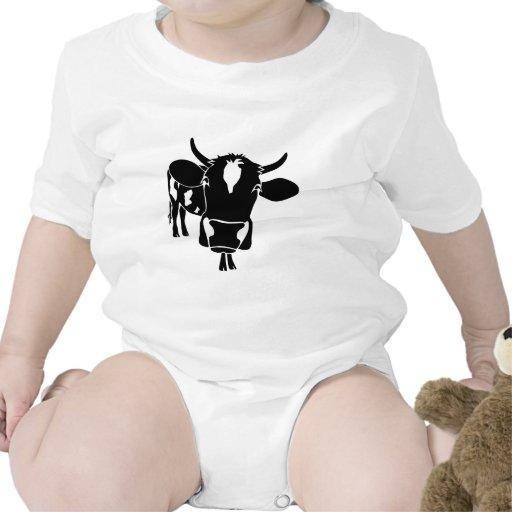 cow kuh cattle fleckvieh munges cowboy farmer camisetas