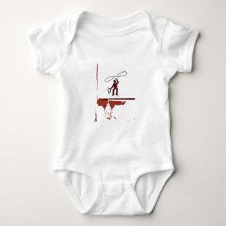 cowboys body para bebê