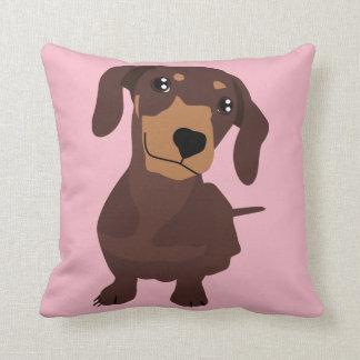 Coxim bonito do travesseiro do filhote de cachorro almofada