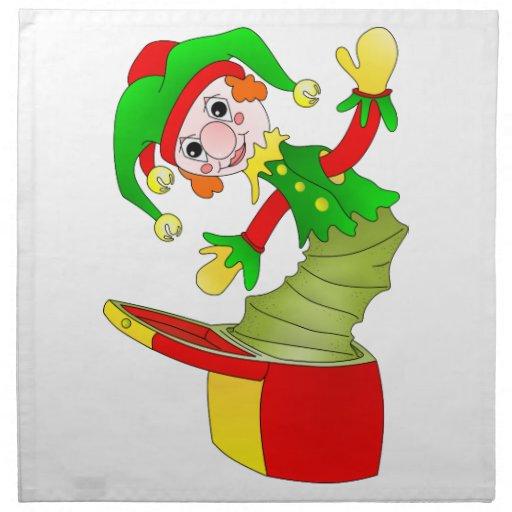 Coxim de Jack in the Box dos desenhos animados Guardanapo De Pano