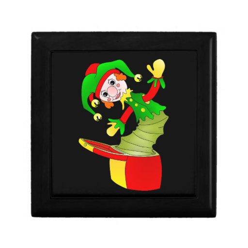 Coxim de Jack in the Box dos desenhos animados Estojo Para Jóias