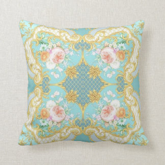 Coxim do design floral almofada