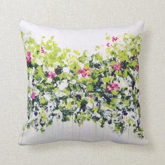 Coxim floral verde do verão travesseiro de decoração