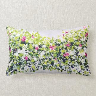 Coxim floral verde do verão travesseiros de decoração