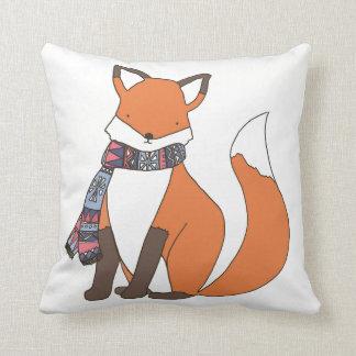 Coxim frio do Fox do inverno Almofada