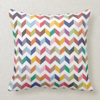 Coxim geométrico do teste padrão dos triângulos da travesseiro