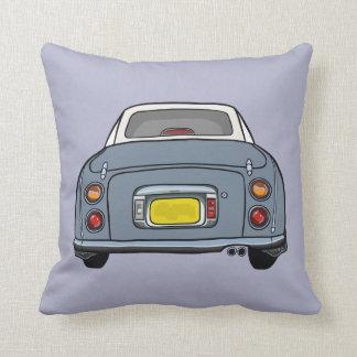 Coxim roxo do travesseiro de Nissan Figaro do Almofada