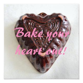 Coza seu coração que coze para fora o convite