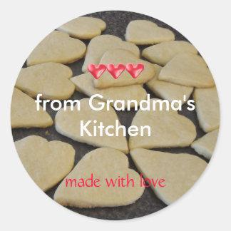 Cozimento da cozinha das avós adesivo