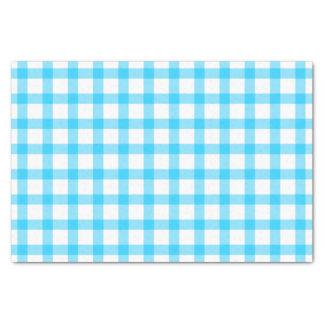 Cozinha azul papel de seda