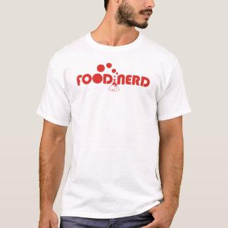 cozinhar culinário do foodie do nerd da comida que camiseta