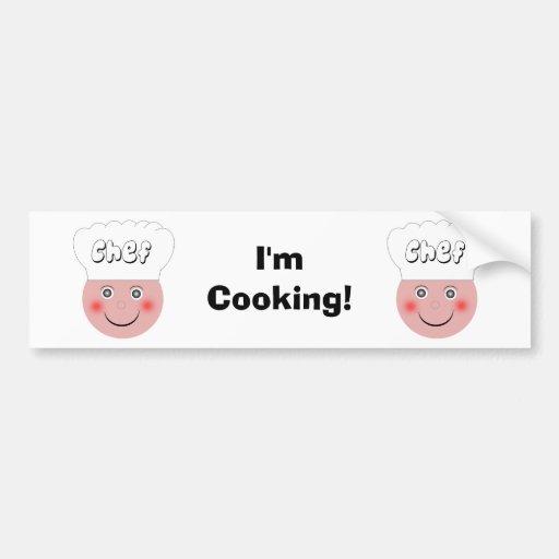 Cozinheiro chefe adesivos