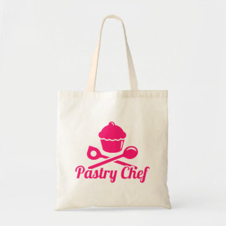 Cozinheiro chefe de pastelaria bolsa tote