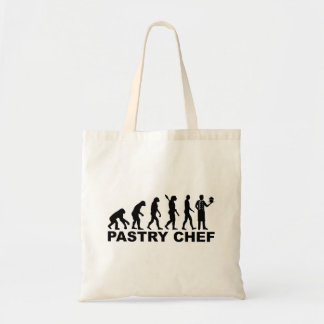 Cozinheiro chefe de pastelaria da evolução bolsa tote