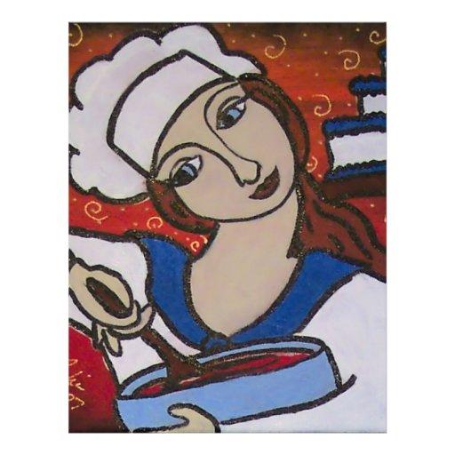 Cozinheiro chefe de Patry Panfleto