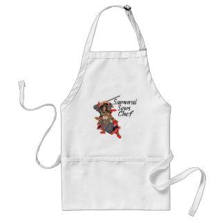 Cozinheiro chefe de Sous do samurai Avental