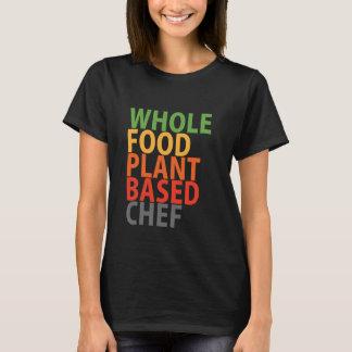 Cozinheiro chefe de WFPB - camisa de t