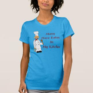 Cozinheiro chefe do gatinho camiseta