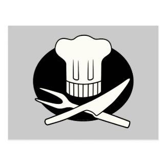 Cozinheiro chefe do pirata cartão postal