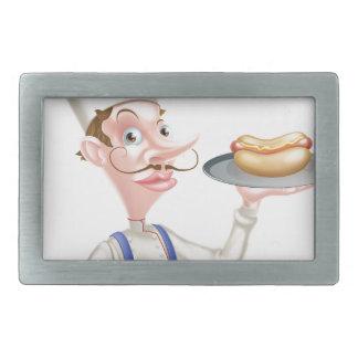 Cozinheiro chefe dos desenhos animados com