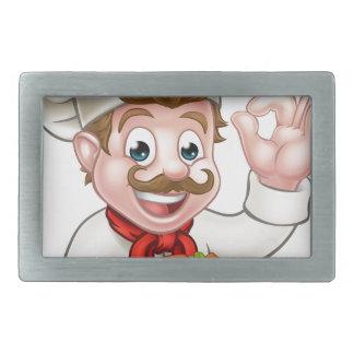 Cozinheiro chefe dos desenhos animados com Kebab