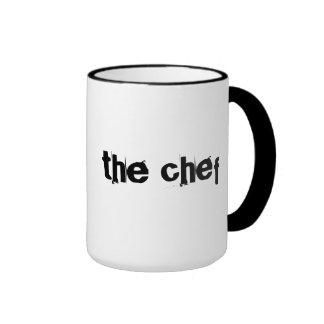 Cozinheiro chefe legal, caneca nervosa do presente
