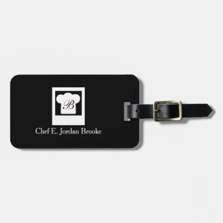 Cozinheiro chefe moderno básico tag de mala