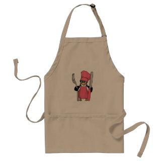 Cozinheiro do pinguim no avental