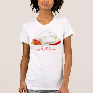 Cozinheiro personalizado do gourmet da cozinha do camiseta