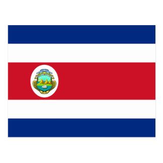 CR da bandeira de Costa Rica Cartao Postal