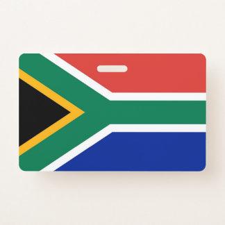 Crachá conhecido com a bandeira de África do Sul