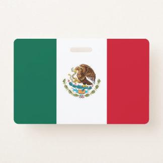 Crachá conhecido com a bandeira de México