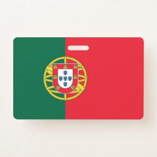 Crachá conhecido com a bandeira de Portugal