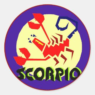 Crachá da Escorpião Adesivo